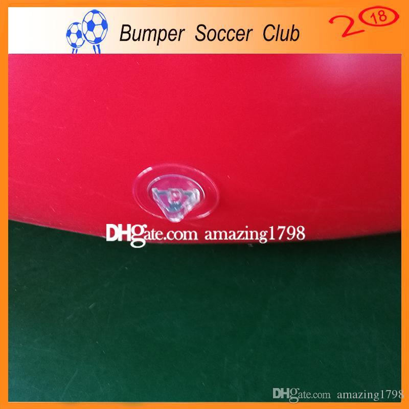 Ücretsiz ShippingPump Plaj Topu Şişme Futbol Oyuncakları Topu Dev Açık Spor Oyuncaklar Şişirilmiş Plastik Top Şişme Futbol Voleybolu