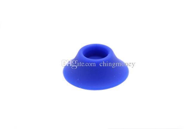 Supporto della base del silicone della batteria di Ecig Variopinti supporti di gomma della tazza del gel di silice e della cig di Sucker di E-Sigaretta