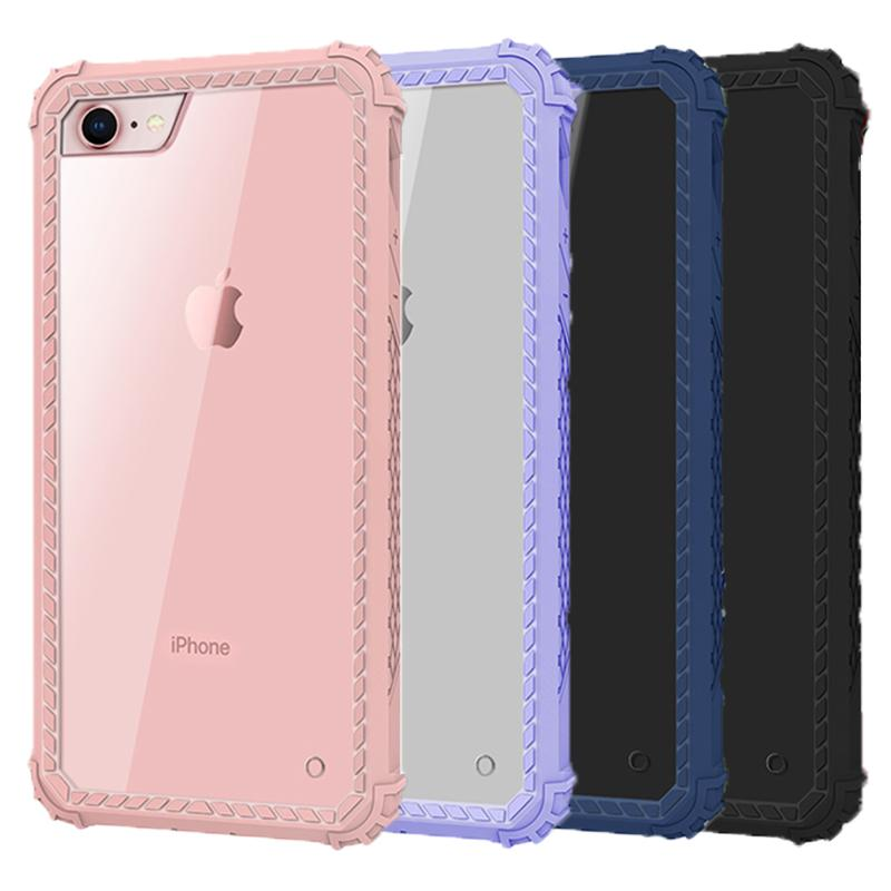 info for b273b e7715 Phone Case For iphone 8 Case 2in1 Clear Hybrid Dual Layer Heavy Duty  Shockproof Full-Body Protective Case For iphone x 8 8plus 7 7plus