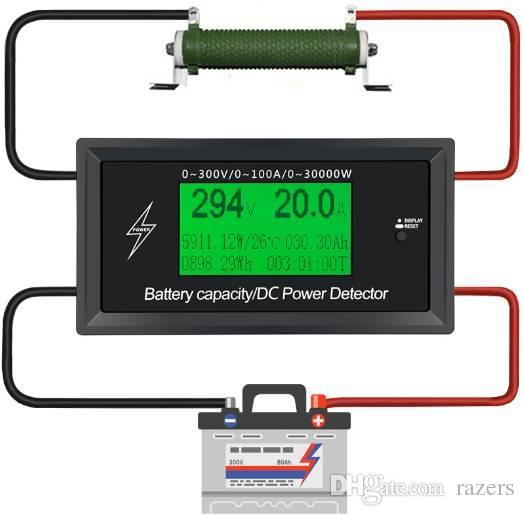 Car Battery Testers Digital Dc Voltmeter Ammeter Voltage Meter