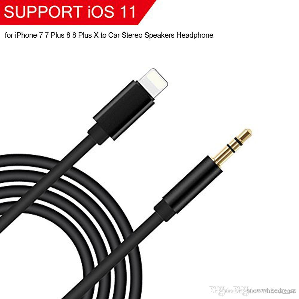 low priced f85c6 e5fe7 Lightn Aux Cord Lightn to 3.5mm Aux Stereo Audio Cable Headphone Jack  Adapter for iPhone aux cable