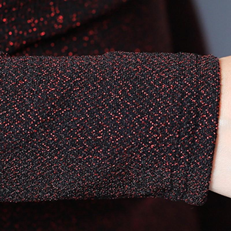 Женская Блузка 2018 Мода Зима Осень Топы Дамы Повседневная V-образным вырезом с длинным рукавом Femme Рубашки Большой Размер Blusas Femininas D0681