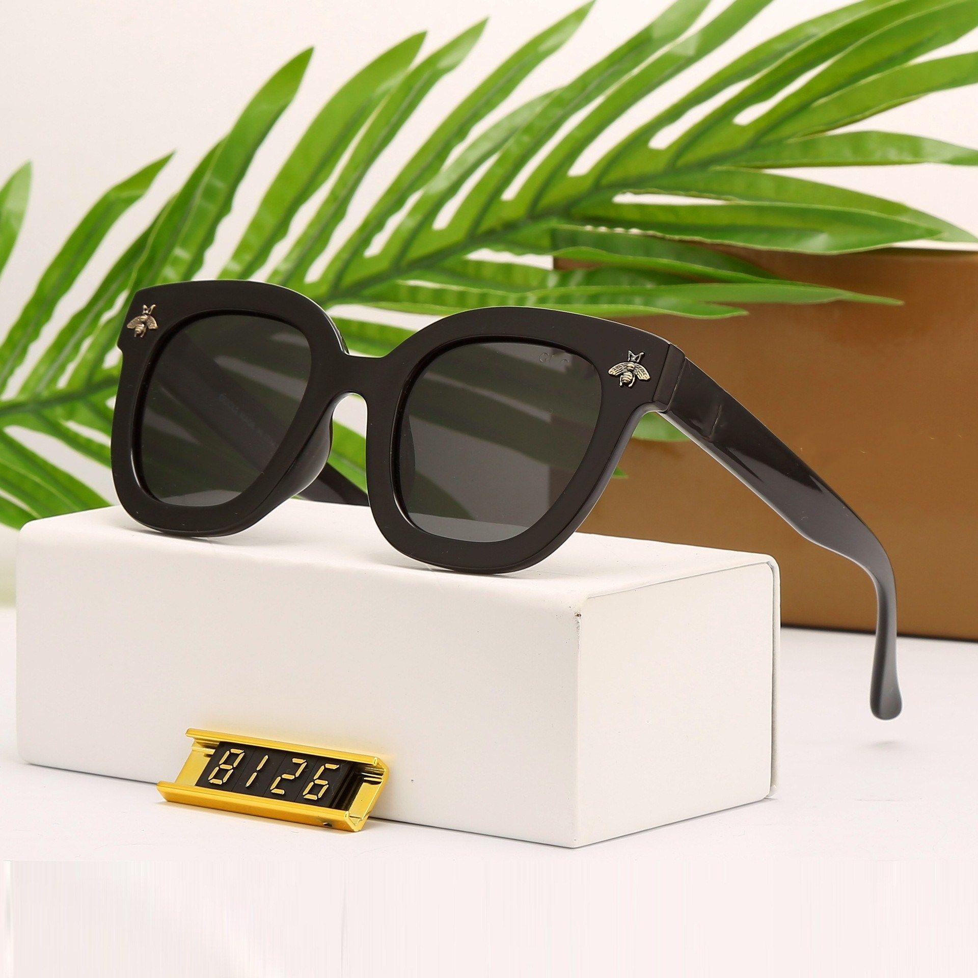 087b8d7163 8125 Luxury Fashion Sunglass Women Brand Deisnger UV Protection Lens ...