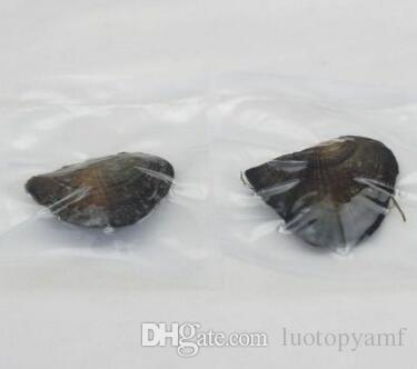 6-7.5 мм Akoya натуральный жемчуг устрица с капельками воды свободные Жемчуг для DIY ювелирных изделий вакуумная упаковка Оптовая