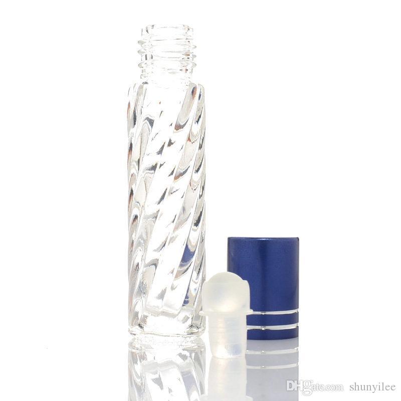 4 м LMini стекло ролл на бутылки ролик мяч Кельн Спорт духи портативный путешествия с алюминиевой крышкой быстрая доставка F20173066