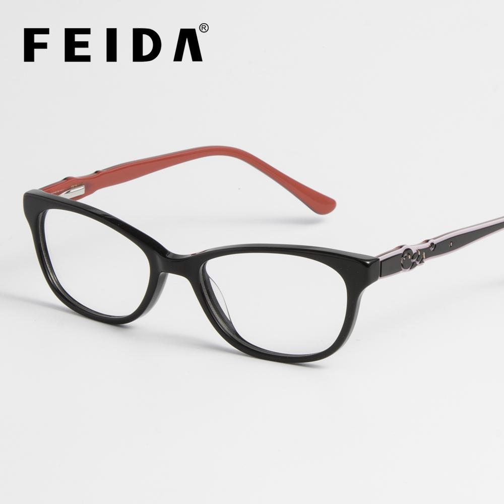 d51c5f72ea5be 2019 FEIDA Boys Girls Acetate Kids Glasses Frame Square Kids Student Eyewear  Myopia Optical Clear Lens Spectacle Frame For Children From Gunot, ...