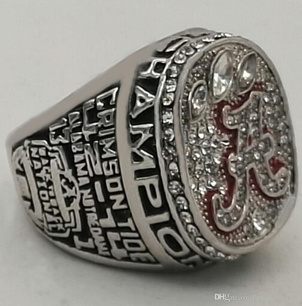 Großverkauf der fabrik 2012 Alabama Crimson Tide National Championship Ring gute qualität ring !!!!