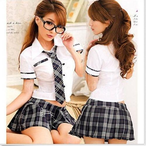 Pic of adult school girl seems