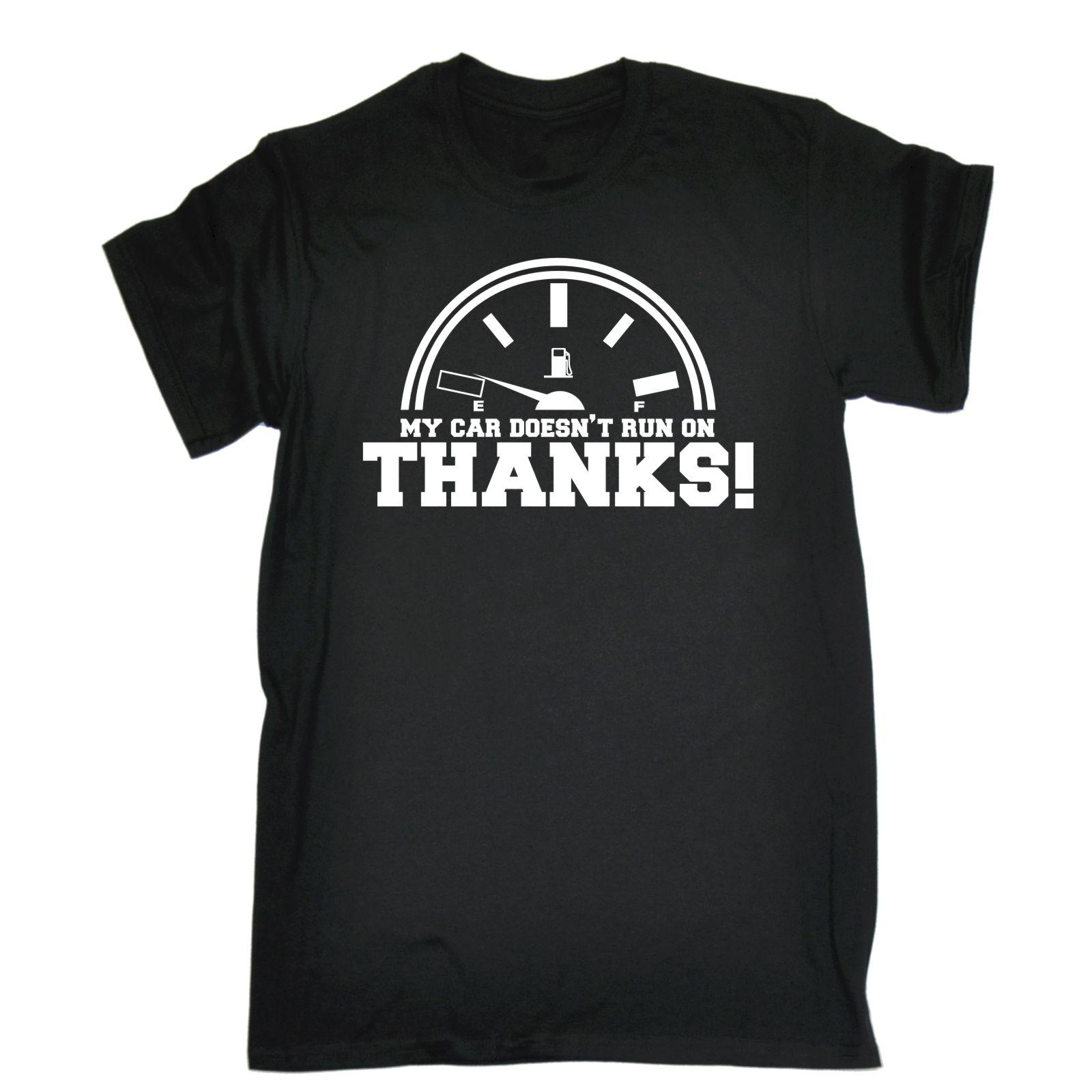 My Car Runner On Thanks Mens T Shirt Tee Funny Birthday Gift Taxi Print Summer Style Fashion Tops Hilarious Shirts From