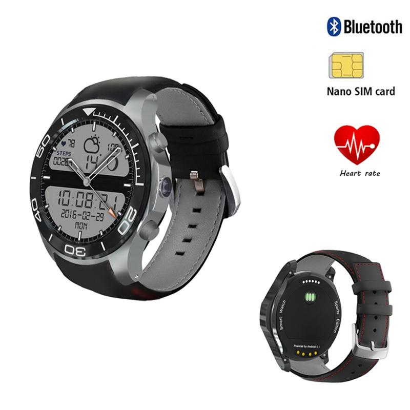 S11 smartwatch VS I4 I6 GW11 Q7 wearable device with heart rate monitor  wifi gps nano sim/tf card 3G smart watch Android phone