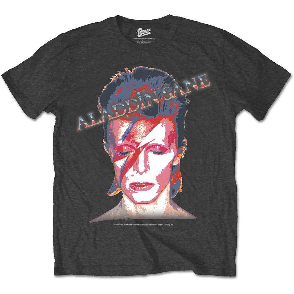 519b54050b04 Black David Bowie Aladdin Sane Rock Officiel T Shirt Hommes Best Sites For T  Shirts Tee Shirt Deals From Linnan0008, $14.67| DHgate.Com