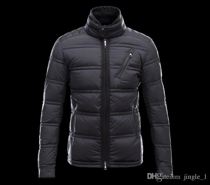 44b6b277c239 Winter Down Jacket Men New 95% White Goose Down Coat Hooded Top ...