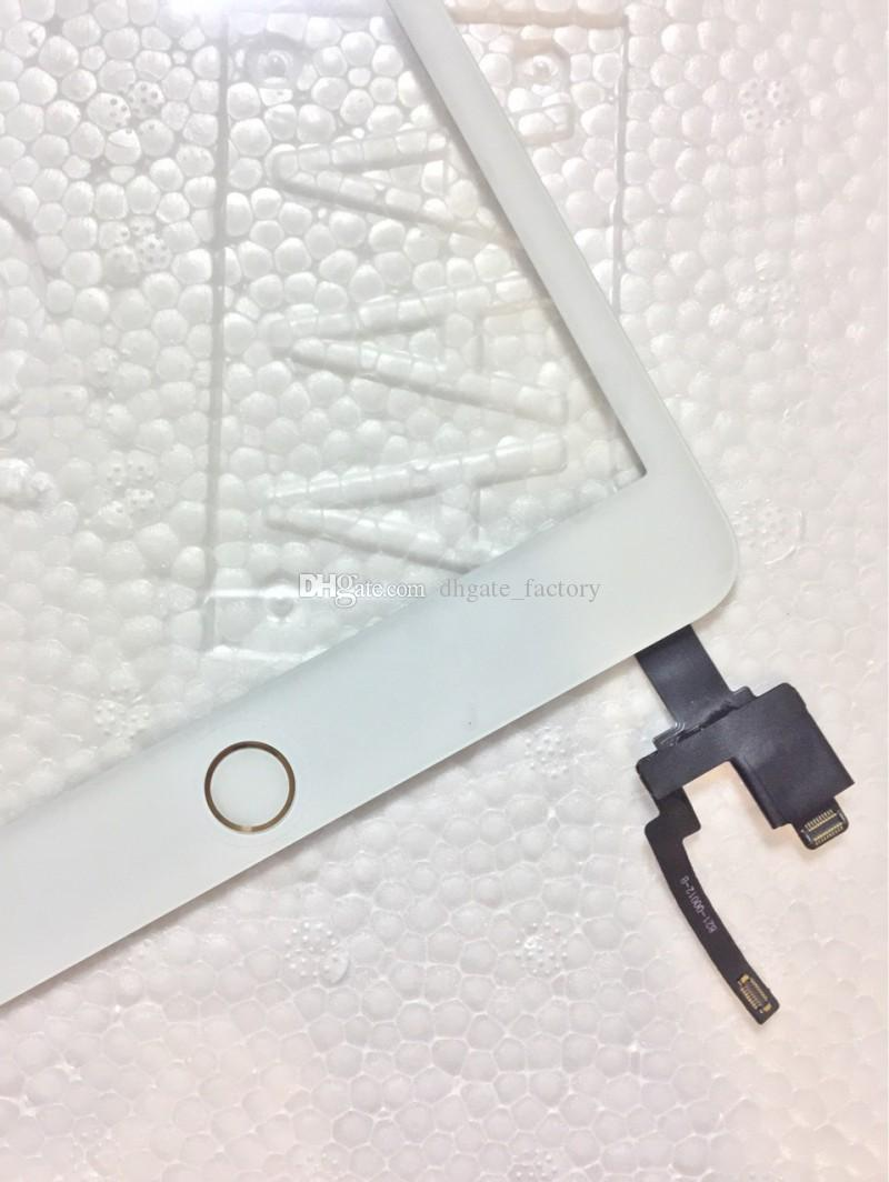 100% Completed For iPad mini 1 mini 2 Touch Digitizer Screen With IC & Home Button Flex Cable Touch Screen Digitizer Assembly Replacements