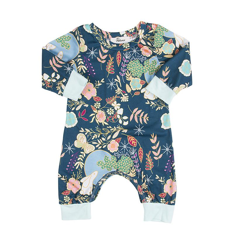 094bfeed95fa 2019 2017 New Autumn Winter Boy Girls Overalls Newborn Infant Playsuit  Jumpsuit Baby Rompers Cartoon Animal Printed Warm Clothing Set From Humom