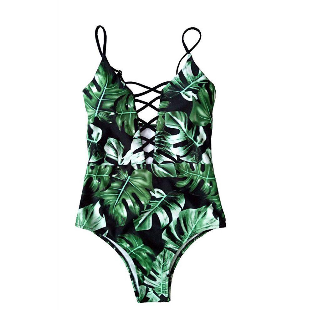 Women's One Piece Plus Size Brazilian Swimsuit Swimwear Monokini Bather Suit Bikini Maillot Cross Strap Biquini Female Plavky