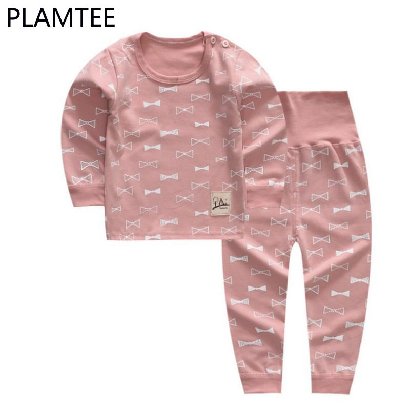 8bf5798ef PLAMTEE New Cotton Long Sleeves Cartoon Printing Boys And Girls ...
