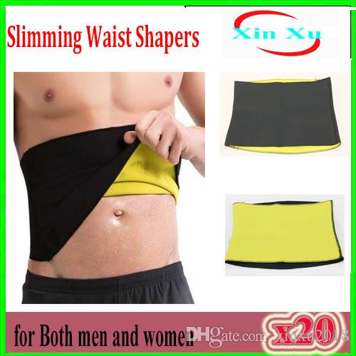 c740b3166c2 2019 Sale Shapers Waist Trimmer Slimming Belt Men S Compression Body Shaper  Belt Natural Weight Loss Neoprene Hot Workout Belts ZY YD 1 From Xinxu2018