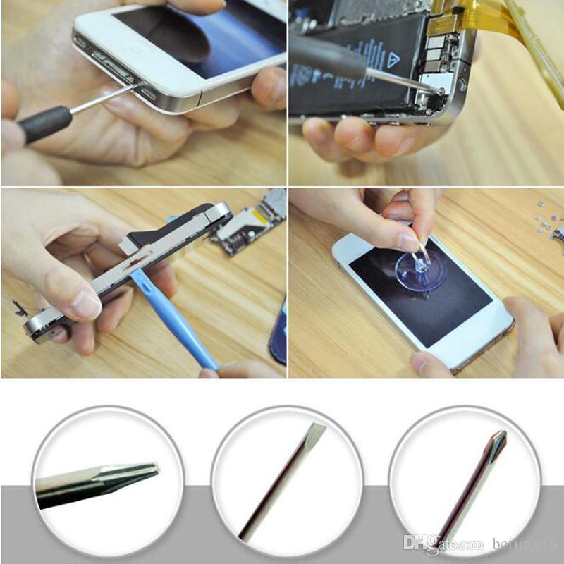 Metall-hebel Eröffnung Werkzeuge Kits Herramientas Outillage Handy Reparatur Tool Werkzeuge Für Iphone Ipad Samsung FüR Schnellen Versand Werkzeuge