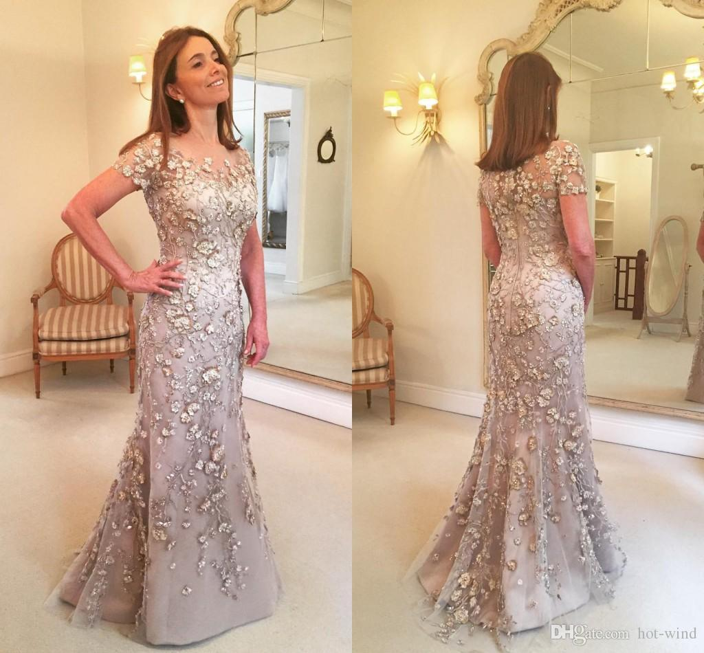 2020 New Arrival Elegant Silver Mother Of The Bride