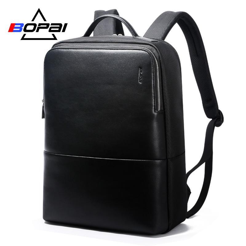 2018 Bopai Cool Mens Backpacks Man Rucksack 14 Inch Laptop Bag