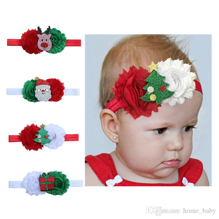Christmas Headband Hair Accessories Baby Girl Headbands Jojo Siwa Designer Baby  Girl Hairband Boutique Kids Christmas Gift Kids Hair Accessories Wholesale  ... 5066b62d98d