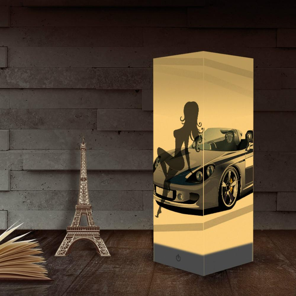 Paper Shadow NightLight USB Lights Car Lights Indoor Home Decoration Lamps Desk Table Light as Gift for Kids Wholesale Dropshipping