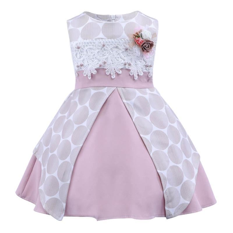 af7a534fe095 2019 Infant Clothes Girl Summer Baby Girls Dress Kids White First Birthday  One Year Lace Cute Party Dresses Newborn Princess Wear From Cassial, ...