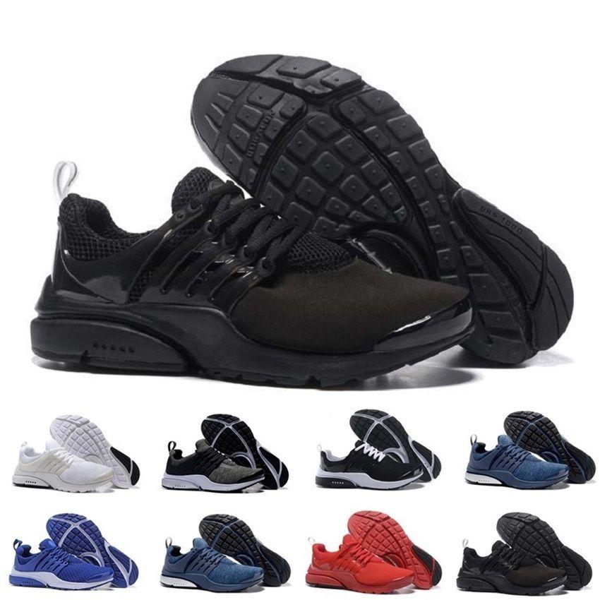 sale retailer 41347 2f123 Compre Nike Venta Al Por Mayor Air Presto Br Qs Breathe Negro Blanco Mens  Basketball Shoes Sneakers Mujeres, Zapatos Corrientes Para Hombres Calzado  ...