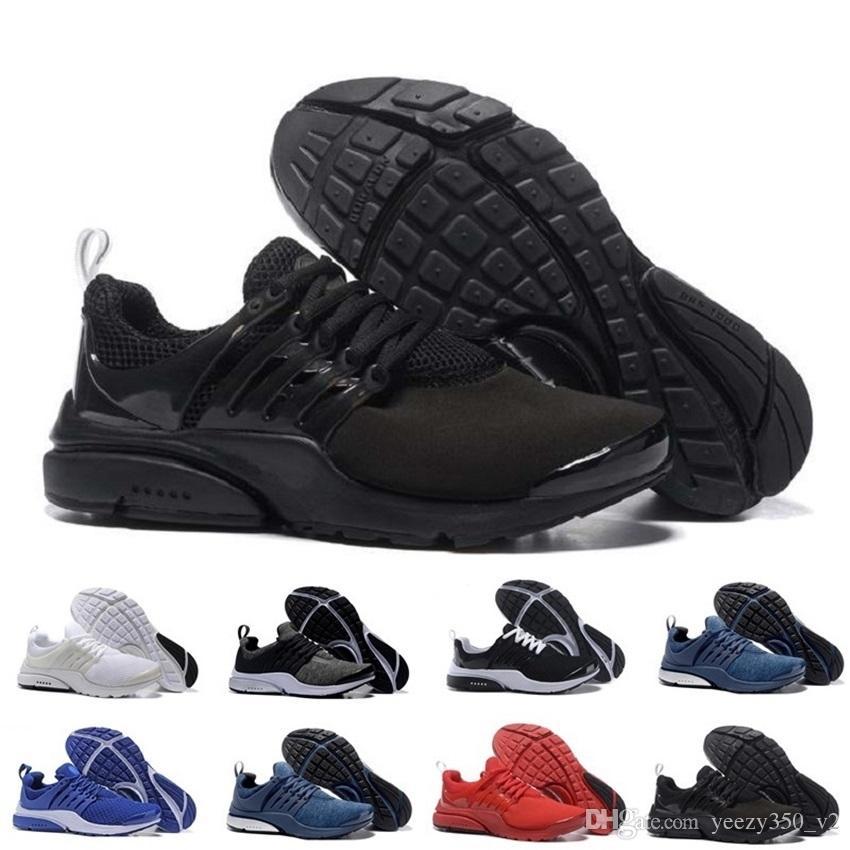 50c83f7767162 Compre Venta Al Por Mayor Nike Air PRESTO BR QS Breathe Negro Blanco ...
