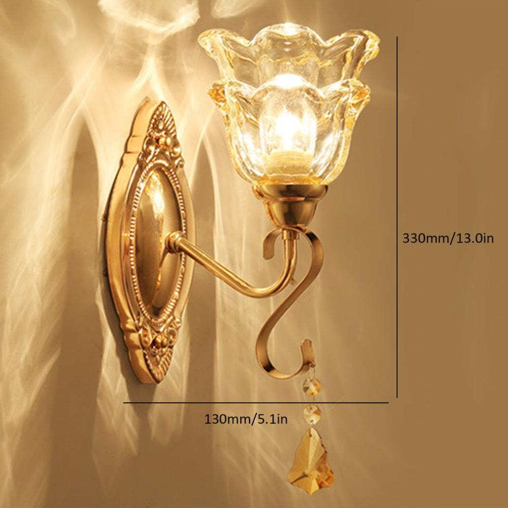 2018 Icoco Simple European Luxury Wall Light Lamp For Bedroom Living ...