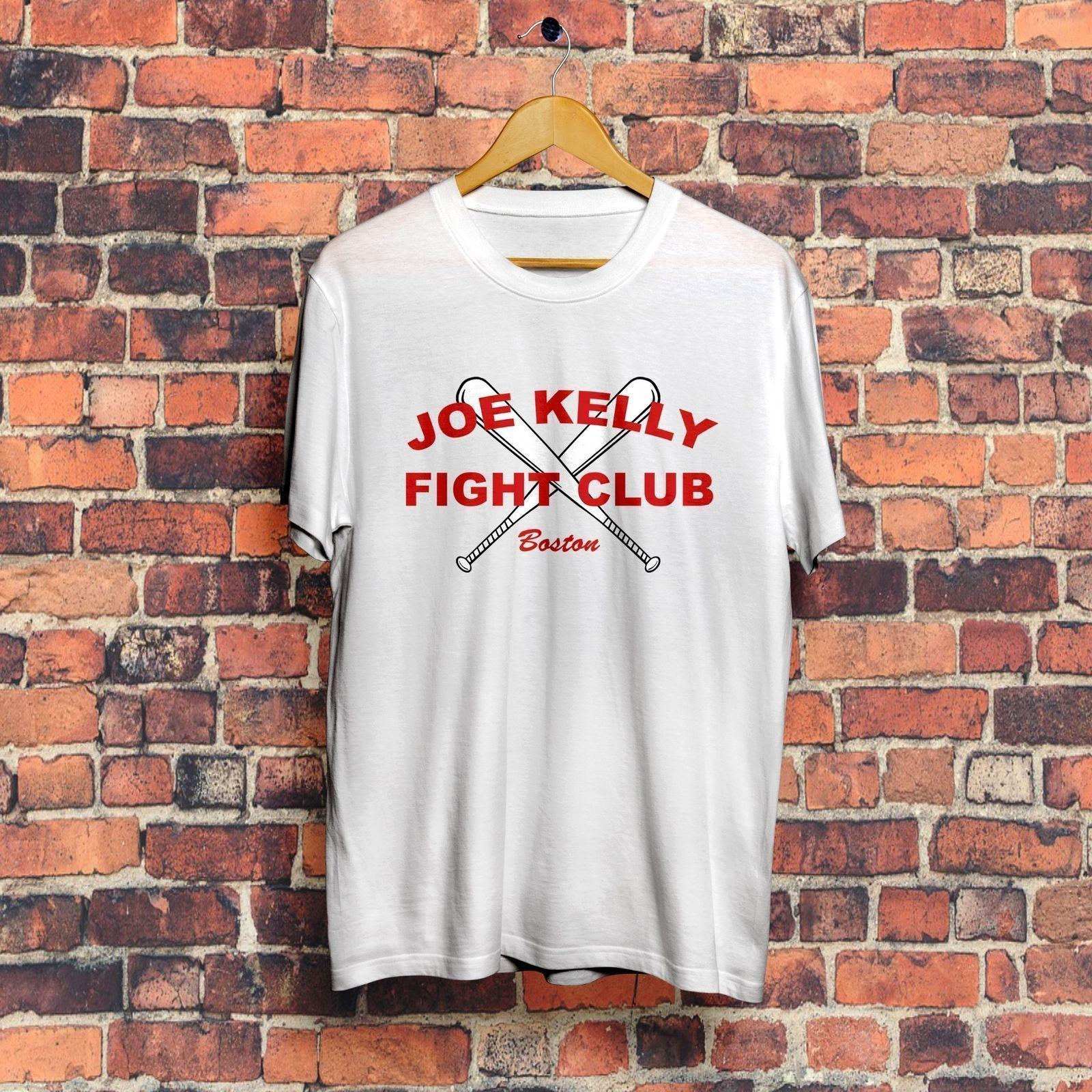 Joe Kelly Fight Club T Shirt Quality T Shirts Men Printing Short
