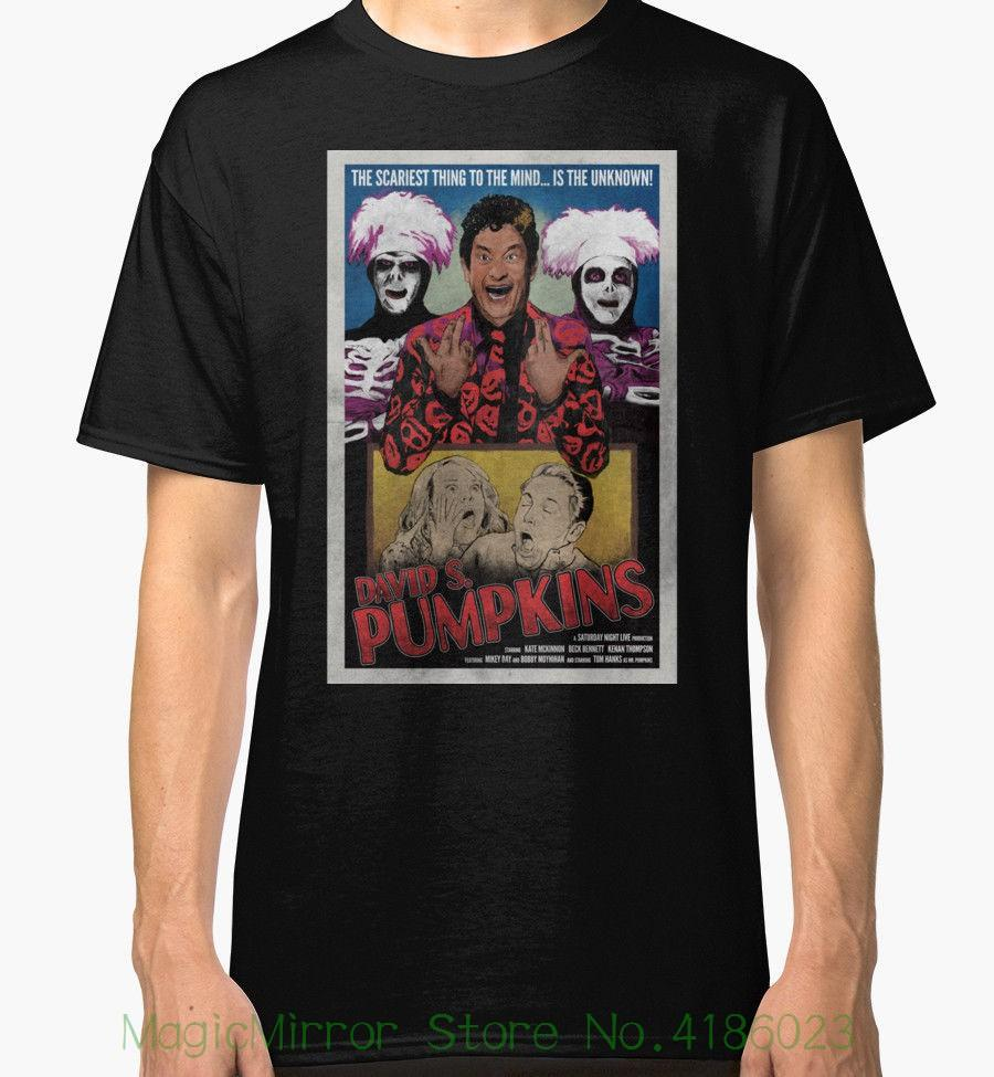 1d387838 David S. Pumpkins Vintage Style Poster Men's Black Tshirt Tees Clothing  Tshirt Men 2018 New
