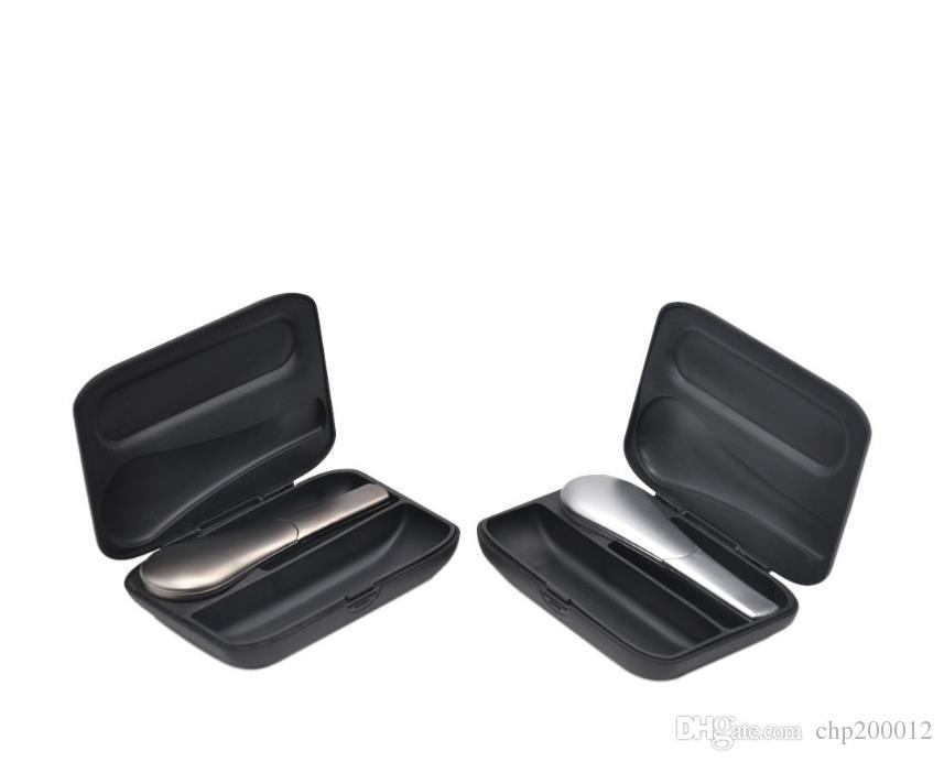 Negro caja de regalo tubería tubo de aspiración desmontable metal ferromagnético forma de cuchara