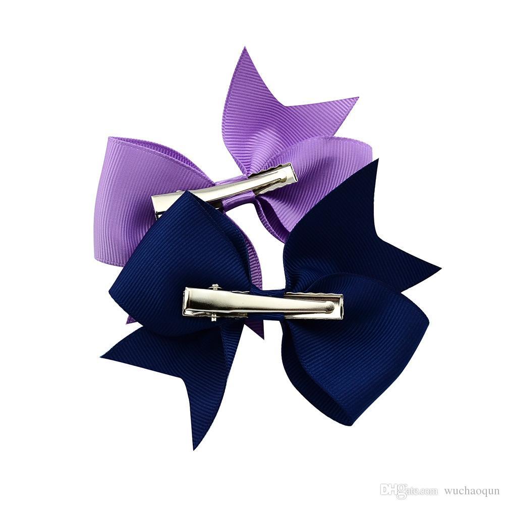 es cintas para el pelo del bebé arcos 4 pulgadas arco de la cinta diademas para niñas niños accesorios para el cabello niños princesa elástica tocado BY0183