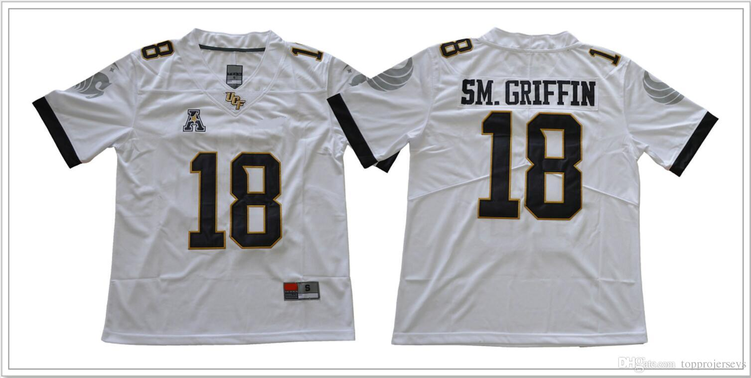 2019 UCF Knights  18 Shaquem Griffin SM. Griffin Mens Vintage College  American Football Sports Team Pro Jerseys Cheap Stitched Embroidery On Sale  From ... 3046dc0a8c3