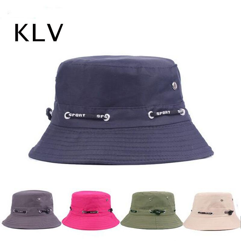5d55ccf6fd0238 Unisex Fishing Bucket Canvas Boonie Hat Sun Visor Cap Travel Outdoor Sport  Hats for Men and Women HT51034+35