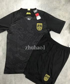 856b7bb5b 2019 1819 China Black Soccer Jersey Home Away Shirts Short Sleeve Uniforms  Football Sets Long Sleeve Goalkeeper Kit Size S XL From Zhuhao1