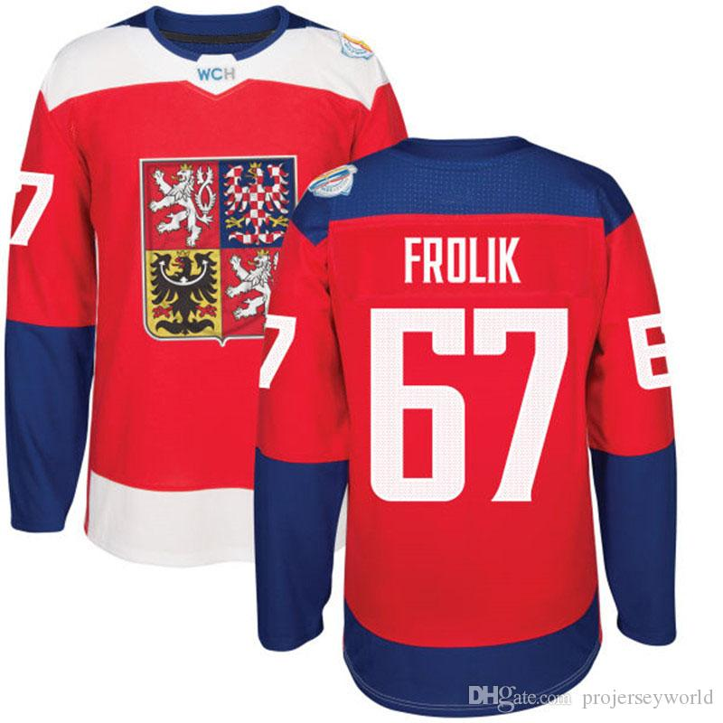 2016 World Cup Czech Republic Olympic Games 34 MRAZEK 33 NAKLADAL 47 JRRDAN 62 SUSTR 64 POLAK 67 FROLIK 83 HEMSKY Hockey Jersey