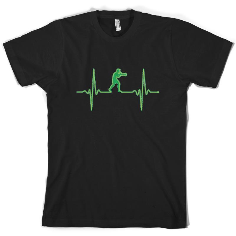 Acheter Battement De Coeur Boxe Hommes T Shirt Box Boxer 10 Couleurs Libre  Uk Pp Cool Fier Casual T Shirt Hommes Unisexe New Fashion De  11.01 Du ... 33692f20e37b
