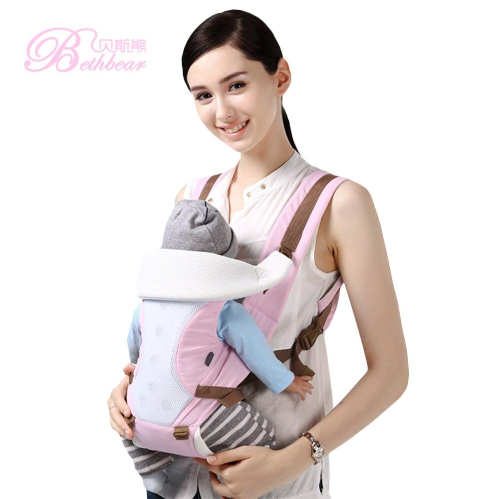 96ae8e7ef68c Acheter Beth Bear New Baby Backpack Carrier Confortable Respirant Empêcher  O Type Jambes Carrier Infant Backpack Taille Tabouret Bébé Hanche Siège De   28.11 ...