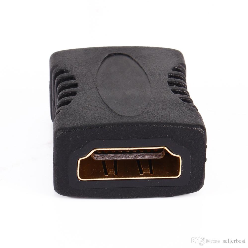 VBESTLIFE HDMI kadın Için HDMI kadın Uzatma Kablosu Konnektör Kablosu 1080 P HDTV HDMI Çoğaltıcı Dönüştürücü Genişletici Adaptörü
