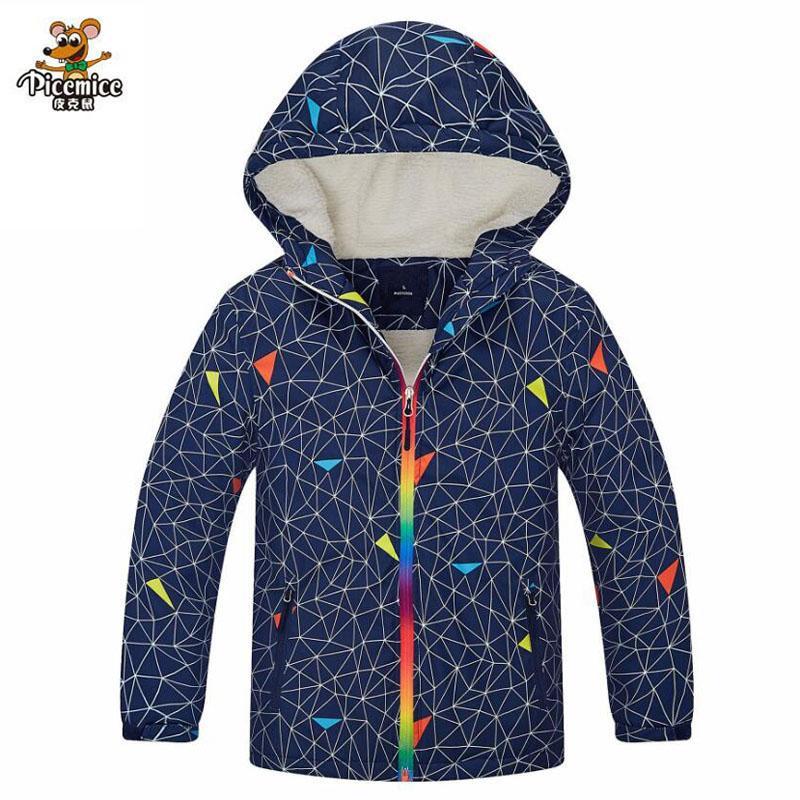 ce63e4674 Children Winter Jacket Berber Fleece Outerwear Sport Coats Polyester ...