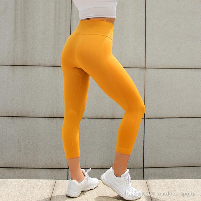 8f97d40e7fe DutteDutta Women High Elastic Fitness Sport Leggings Yoga Pants Slim  Running Tights Sportswear Sports Pants Trousers Clothing