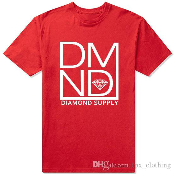 Dmnd T Shirt Diamond Supply Short Sleeve Gown New Casual Tees Unisex  Clothing Pure Color Tshirt Funny Tee Shirts Mens T Shirt From Tpx clothing efb552339