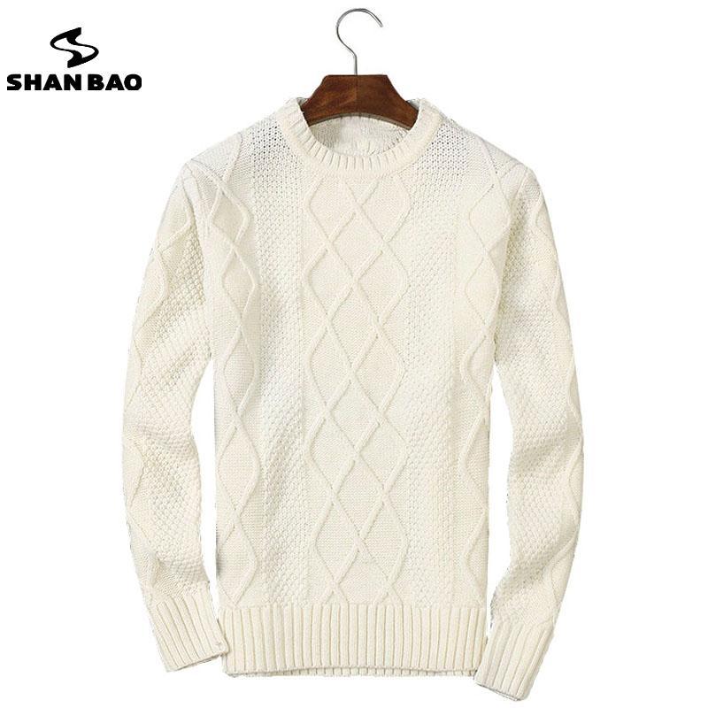 Compre Al Por Mayor Shan Bao 2017 Invierno Grueso Suéter Caliente ...
