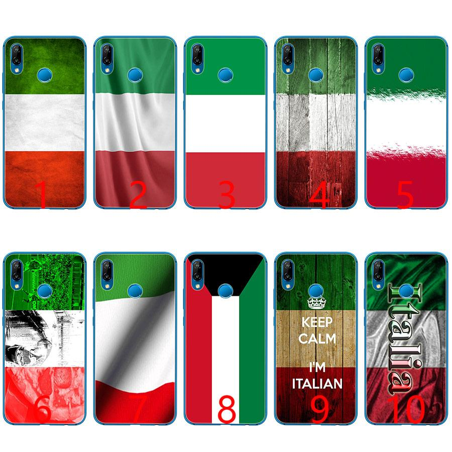 26be7a90b0 Italy National Flag Soft Silicone TPU Phone Case For Huawei Honor 7A Pro 6A  7X 8 Lite 9 Lite 10 Cover Custom Phone Cases Phone Cases From Liangdeyou8,  ...