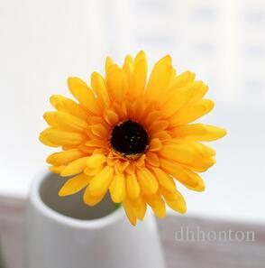 artificial silk sun flower gerbera chrysanthemi flower home and party decorative flowers festive and party hot sell SF07