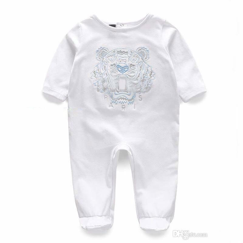 Baby Bodysuit Rompers Jumpsuits Babies Girls Clothing Childrens Dresses  Newborn Baby Cotton Long Sleeve Clothes Romper UK 2019 From Linfen12 078811f69