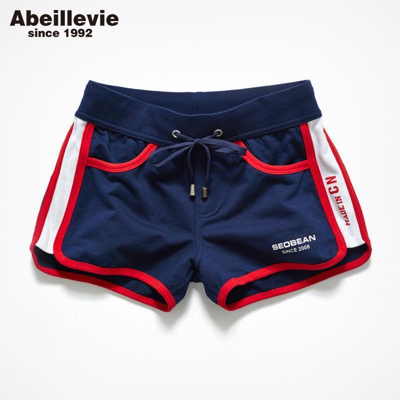 d69f4ef7ee9 Abeillevie New Fashion Cotton Casual Men S Shorts Summer Trunk Comfort  Homewear Loung Shorts Soft Leisure Men Jogger Short PF074 S917 UK 2019 From  Ruiqi03