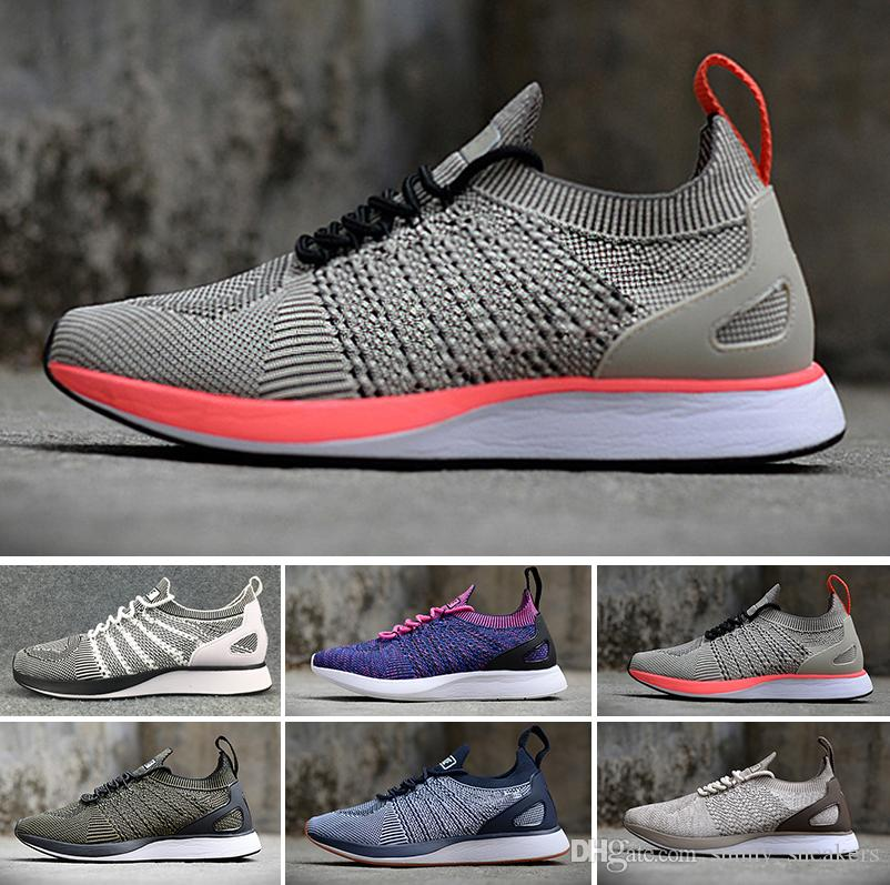 dc899eef12a4 2018 Mesh Multicolor Volt Fly Racers Casual Shoes Lunar Running ...